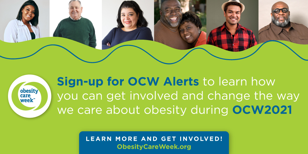 Three Easy Ways to Join Obesity Canada in Supporting Obesity Care Week 2021!